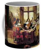 Music, 17th Century Coffee Mug