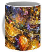 Music And Wine - Palette Knife Oil Painting On Canvas By Leonid Afremov Coffee Mug