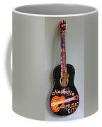 Music City Guitar Coffee Mug