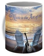 Music Is The Art Of The Soul Coffee Mug