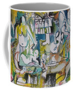 Musical Abstraction  Coffee Mug