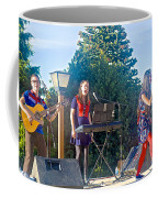 Musical Entertainers In Central Park In Bariloche-argentina Coffee Mug