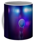 Musical Microphone On Stage Coffee Mug