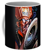 Musical Monk Watercolor Coffee Mug