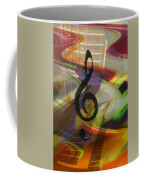 Musical Waves Coffee Mug