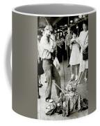 Musician In The Main Arcade Coffee Mug