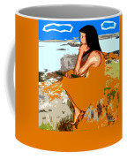 Musician With Tin Whistle Coffee Mug