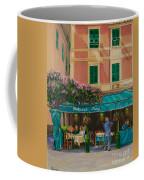 Musicians' Stroll In Portofino Coffee Mug by Charlotte Blanchard