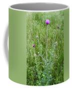 Musk Thistle In Full Glory Coffee Mug
