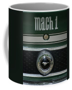 Mustang Mach 1 Emblem Coffee Mug
