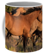 Mustang Run Coffee Mug