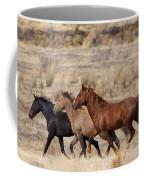 Mustang Trio Coffee Mug by Mike  Dawson