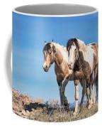 Mustang Twin Stallions Coffee Mug