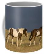Mustangs In Nevada Coffee Mug