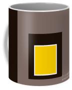 Mustard And Gray 8 Coffee Mug