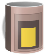 Mustard And Gray 9 Coffee Mug