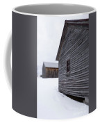 Musterfield Farm North Sutton Nh Old Buildings In The Snow Coffee Mug