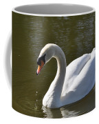 Mute Swan On Rolleston Pond Coffee Mug