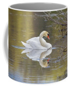 Mute Swan Reflection I Coffee Mug