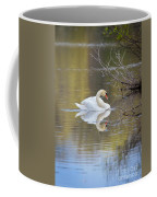 Mute Swan Reflection Coffee Mug