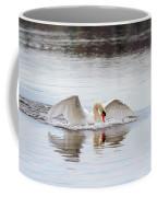 Mute Swan Swim Coffee Mug