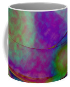 Muted Cool Tone Abstract Coffee Mug