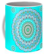 My Blue Heaven Mandala Coffee Mug