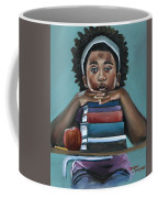 Her Books  Coffee Mug