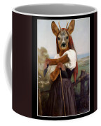 My Deer Shepherdess Coffee Mug