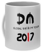 My Global Spirit Tour 2017 - Black Coffee Mug