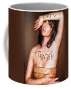 My Invisible Tattoos - Self Portrait Coffee Mug by Jaeda DeWalt