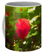 My Love Is Like  A Red Red Rose Of Sharon Coffee Mug