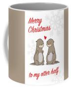 My Otter Half Coffee Mug