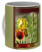 My Painted Iris Coffee Mug
