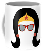 My Red Glasses Coffee Mug