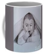 A Little Dude In The Blanket  Coffee Mug