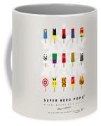 My Superhero Ice Pop - Univers Coffee Mug by Chungkong Art