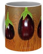 My Three Eggplant Fruits Coffee Mug