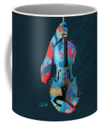 My Violin Whispers Music In The Night Coffee Mug by Nikki Marie Smith