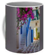 Mykonos Staircase Coffee Mug