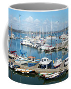 Mylor Marina Cornwall Coffee Mug
