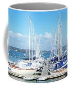 Mylor Yacht Pontoon Coffee Mug