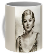 Myrna Loy, Vintage Actress Coffee Mug