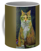 Mysterious Cat Coffee Mug
