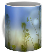 Mysterious Forest At Dusk Blue Coffee Mug