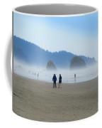Mysterious Morn On Cannon Beach Coffee Mug