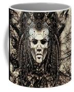 Mystic Future And Past - Ion Prophecies - Monotone  Coffee Mug