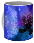 Mystic Poppy Blue Purple  Coffee Mug