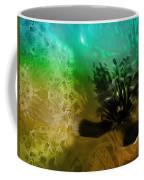 Mystic Poppy Yellow Green  Coffee Mug