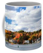 Mystic River In Autumn Coffee Mug